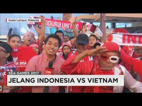 Jelang Indonesia vs Vietnam, Suporter Indonesia Siap Bakar Semangat 'Tim Garuda' - SEA Games 2017