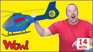 Magic Toys for Kids + MORE Stories for Children from Steve and Maggie | Speaking Wow English TV