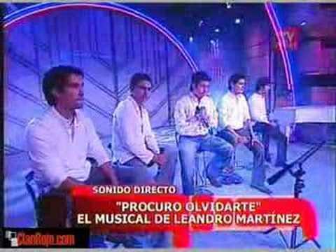 Leandro Martinez Procuro Olvidarte