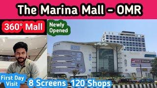 Marina Mall - OMR Chennai || First Day Visit || Chennai Vlogger Deepan - Tamil Vlog