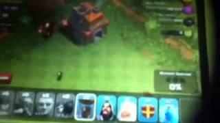 Clash of  clans funny raids 2. Part2