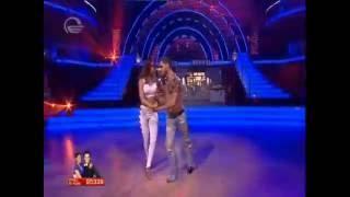 ცეკვავენ ვარსკვლავები - ლიზა ყენია და რატი გაჩეჩილაძე სექსუალური ცეკვა კიზომბა liza da rati kizomba