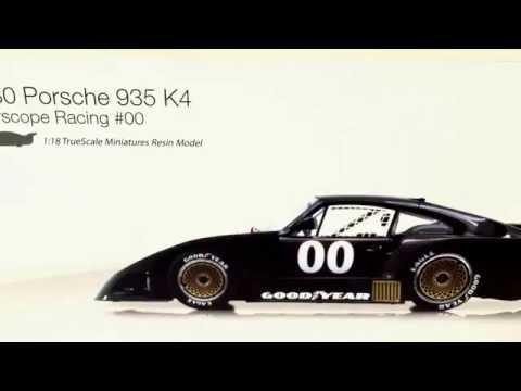 1980 Porsche 935 K4 Interscope Racing #00 1:18 scale TrueScale Miniatures Resin Model review