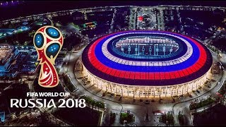 FIFA World Cup 2018 Russia Stadiums