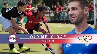 Become an Olympic Hockey Player! | Olympic Day 2018