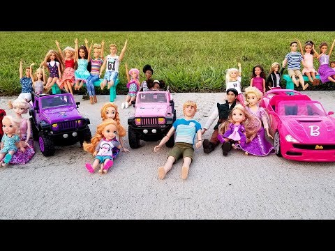 Xxx Mp4 Racing Cars Elsa And Anna Toddlers At The Park – Who's The Winner Barbie Is Organizer Prizes 3gp Sex