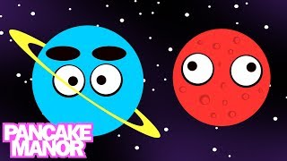 THE PLANETS SONG ♫ | Learning the Solar System | Kids Songs | Pancake Manor