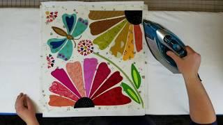 Laser-cut Kit Tutorial -- Garden Party by Laura Heine