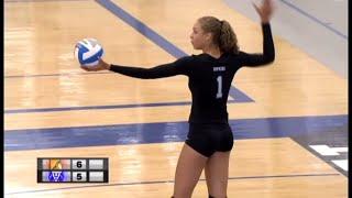 Orono vs. Hopkins High School Volleyball