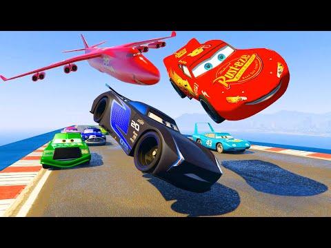 Race Cars McQueen Jackson Storm The King Chick Hicks Doc Hudson Ferrari McMissile Friends & Songs