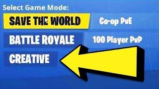 How To Play FORTNITE CREATIVE | Season 7 Fortnite Creative Mode Gameplay | Creative Early Access