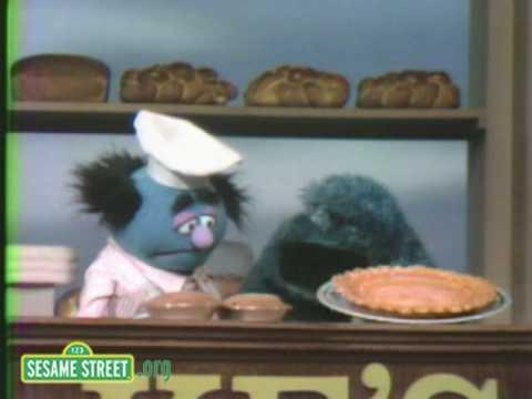 Sesame Street Cookie Monster Buys A Rhyme