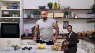 """الحلقة الأولى من برنامج """"غوريلا في المطبخ""""  - حلقة عجة بالخضروات"""