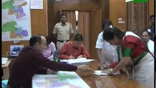 Navneet Rana filed her application for candidacy