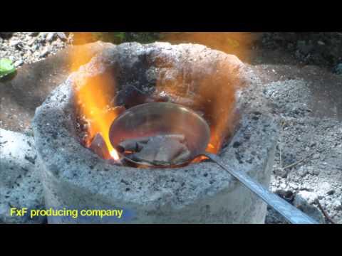 Литье металл в домашних условиях