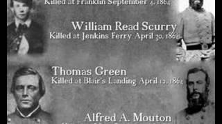 American Civil War: confederate generals died during the war