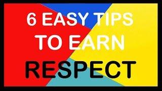 The Easiest Ways To EARN Respect - Krishna Upadhyay