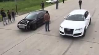 Audi RS6 MTM  1000+ hp  VS  VW golf IV RS6 engine GOGI