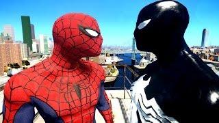 Spiderman VS Black Spider-man