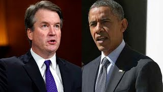 How Obama Paved the Way for the Kavanaugh Appointment