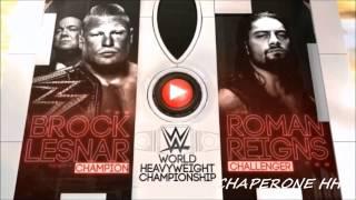 WWE Wrestlemania 31 Match Card Brock Lesnar Vs Roman Reigns