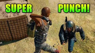 Super Punch! | PlayerUnkown's Battlegrounds With Friends