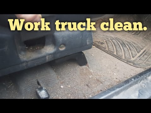 Cleaning a really dirty work truck mitsubishi l200