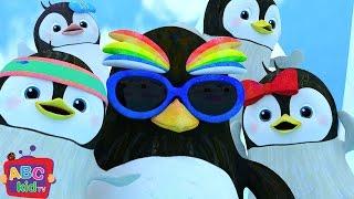 Penguin Dance Song | Nursery Rhymes & Kids Songs - ABCkidTV