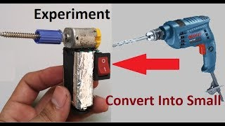How To Make Mini Drilling Machine at Home | Simple Trick & Life Hack...//