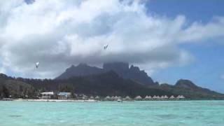 Bora Bora, 5 Star Hilton Resort, Hobie Cat Sailing, Manhattan Auctions, Global Coral Reef Alliance