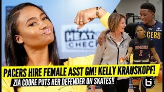 The League Is Changing For The Better!! The Pacers Hire First Female ASST GM Kelly Krauskopf!!