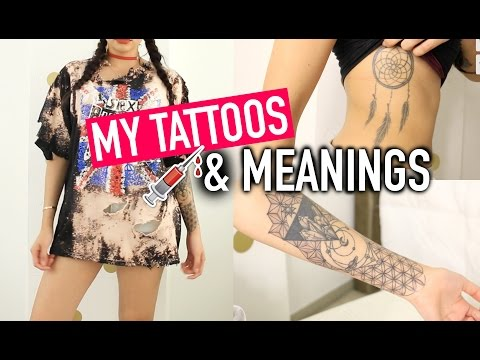 MY TATTOOS AND MEANINGS ♡