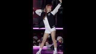 180224 케이팝 월드 페스타 위키미키 유정 라라라 직캠 by 미름(fancam)
