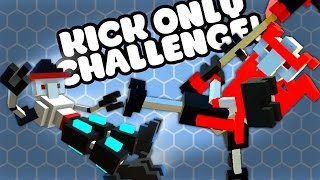 SPIKEY, KICK and SLOW-MO UPDATE - Let's Play Clone Drone in the Danger Zone Gameplay
