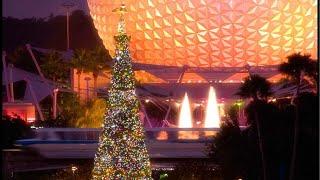 Epcot Live Stream - Candlelight Processional & Decorations - 11-24-17 - Walt Disney World
