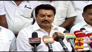 Sarathkumar Press Meet On Lok Sabha Election 2014 Results - Thanthi TV