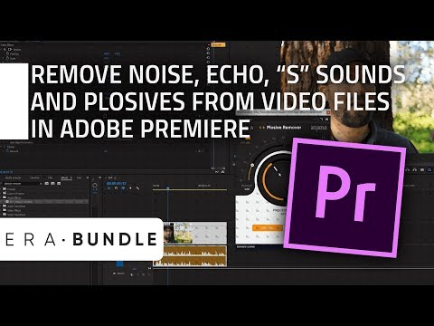 Xxx Mp4 How To Remove Noise Echo QuotSquot And Plosives From Video Files In Adobe Premiere ERA Bundle 3gp Sex