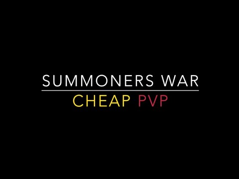 Summoners War - Cheap PvP Ep. 1 - Talc & Konamiya Support Duo