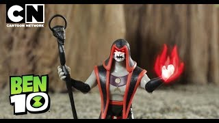 Ben 10 Toys   Only at Toys R Us   XLR8 VS Hex   Cartoon Network