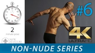 Art Model Images to Draw - Figure Drawing Reference Images (NON-NUDE SERIES DLDS #6) in Ultra HD 4K