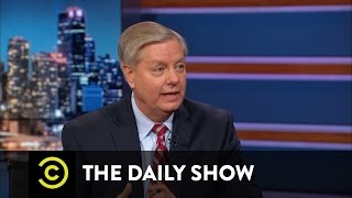 Lindsey Graham - The Senator Picks His Poison: Ted Cruz vs. Donald Trump: The Daily Show