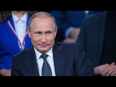 watch Putin shows German skills, unexpectedly steps in as translator at forum