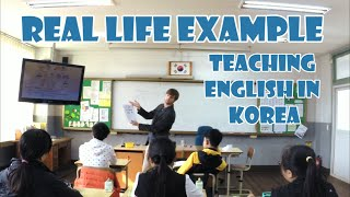 Real Life Example Of Teaching English In Korea (+Do You Teach From A Textbook?)