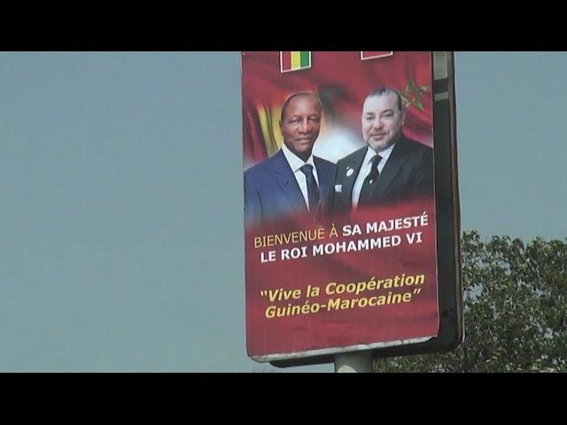 Conakry s'apprête à accueillir le Roi Mohammed VI