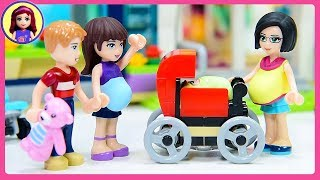 Pregnant Lego Minidoll Custom DIY Craft Kids Toys