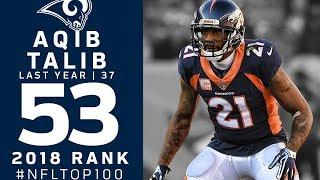 #53: Aqib Talib (CB, Broncos)   Top 100 Players of 2018   NFL