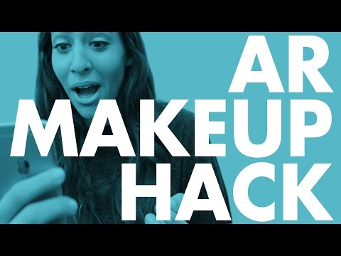 AR Makeup hack the best Augmented Reality trick for halloween transform yourself instantly