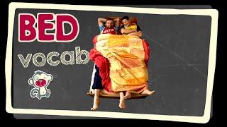 Bed - English vocabulary