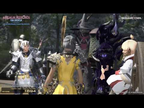 Final Fantasy XIV Benchmark on A10-7850k