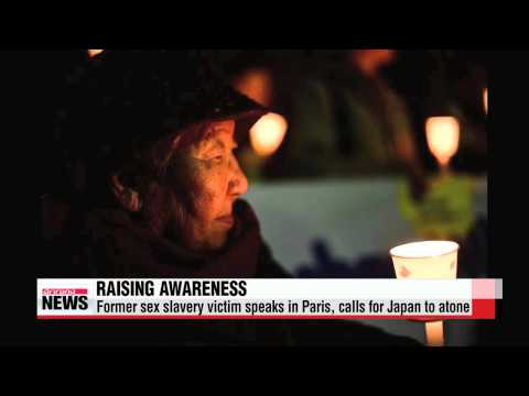 Xxx Mp4 Former Sex Slavery Victim Speaks In Paris Calls For Japan To Atone 위안부 할머니 Q 3gp Sex